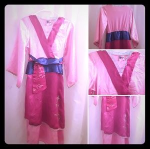 Kids Mulan Costume
